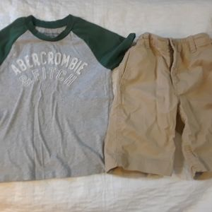 NWOT BOYS 6 7 ABERCROMBIE GAP LOT BUNDLE